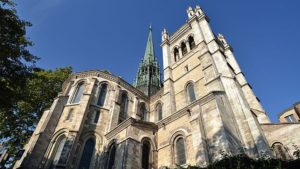 cathedrale st pierre geneve taxi